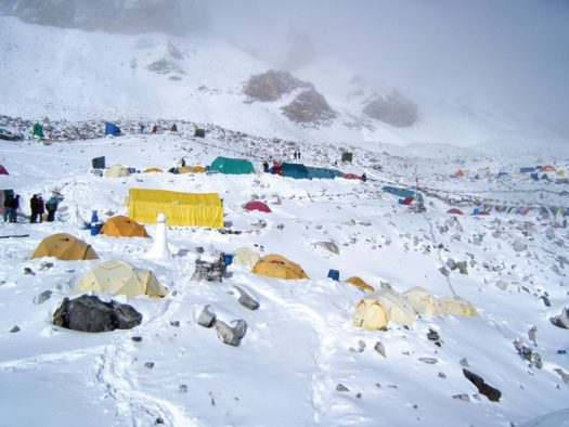 Campo base do Everest